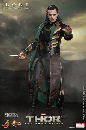 Hot Toys - Loki Sixth Scale Figure - Thor The Dark World