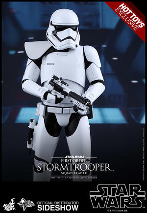 Hot Toys - Exclusive First Order Stormtrooper Squad Leader