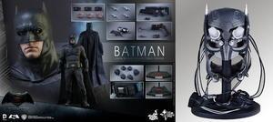 Hot Toys - Batman Dawn of Justice 1/6 Batman figur med Tech Cowl