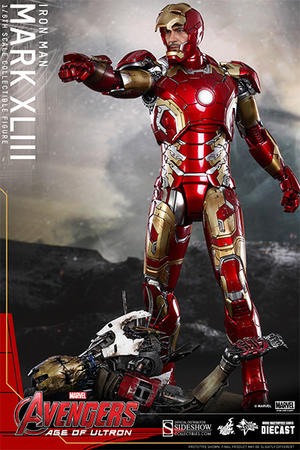 Avengers Age of Ultron  - Iron Man Mark XLIII 1/6 Figure Hot Toys