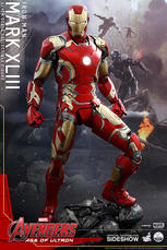 Hot Toys - Iron Man Mark XLIII Quarter Scale Figure