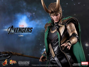 Hot Toys -  Loki sixth scale figure The Avengers