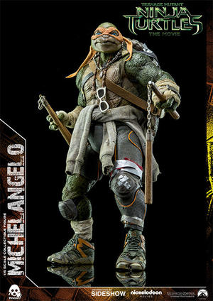 Teenage Mutant Ninja Turtles Movie Michelangelo 1:6 Scale Figure