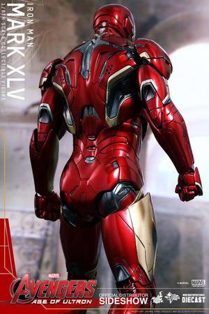 Hot Toys -  Iron man Mark XLV Diecast AoU Sixth Scale Figure