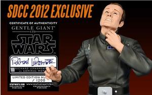 Admiral Motti Mini Bust - SDCC 2012 Exclusive