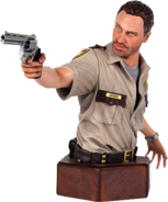 Rick Grimes The Walking Dead Mini Bust