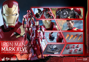 Civil War Iron Man Mark XLVI Sixth Scale Figure - Hot Toys